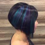 Beautiful Aline bob that has accent of elumen
